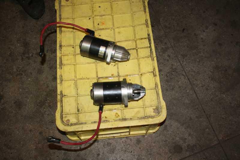 электрический стартер на лодочный мотор
