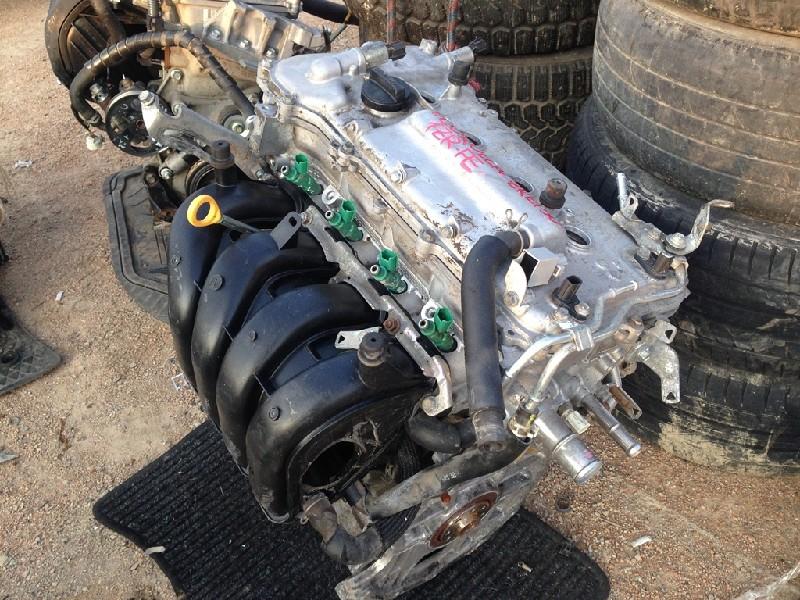 Снять двигатель тойота королла